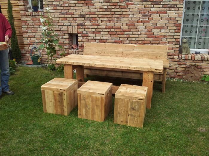 Gartenmöbel aus altem holz  Exklusive Design-Gartenmöbel | Kunstrasen Wunder